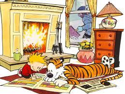 lazy sunday comics calvin and hobbes lazy sunday and reading