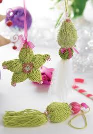 free pattern u0027neva u0026 siria u0027 two beaded knit ornaments or year