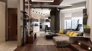 revetement plafond chambre plafonds faux plafond aspect bois salon spacieux canapé gris