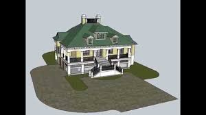 the montserrat is a southern tidewater cottage home plan youtube
