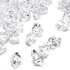 Vase Rocks Amazon Com Acrylic Clear Ice Rock Crystals Treasure Gems For Vase