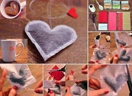 heart shaped tea bags heart shaped tea bags diy cozy home