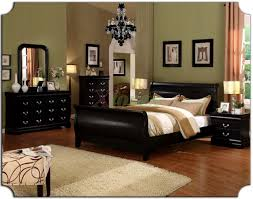 pleasant home beds furniture and great wall color design
