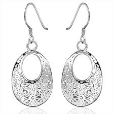styles of earrings 6 styles 2018 hot wholesale silver earing hollow flower tree