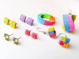 quilling earrings tutorial pdf free download diy paper woven jewelry box weaving paper earrings pendants