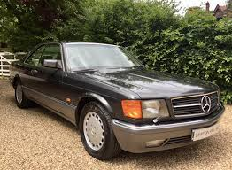 used 1990 mercedes benz sec series 560 sec for sale in berkshire