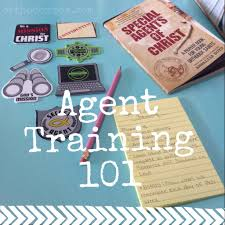 special agents of christ spring training lenten activity for