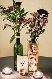 themed centerpieces make your own wine themed centerpieces for 5