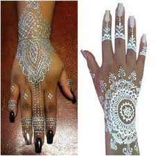 earth henna white lace tattoo kit chantel keona