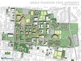 University Of Pennsylvania Campus Map by Lose U0026 Associates Middle Tennessee State University Mtsu