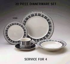 20 dinnerware set keyboard theme dishes from piano supplies