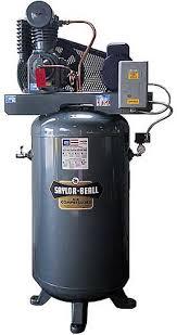 saylor beall vt 735 80 tank mounted vertical air compressor
