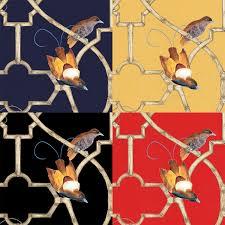 paradise trellis chinoiserie mural wallpaper muralsources com