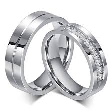 mens stainless steel wedding bands aliexpress buy new engagement ring rings for