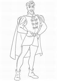 coloring prince coloring pages