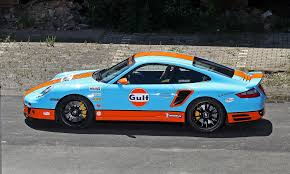 gulf racing truck gulf racing livery by cam shaft for the porsche 911 turbo