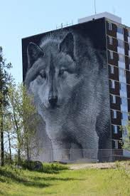 Wolf Mural by Craving Summer Fun Take Your Family To This Oft Overlooked