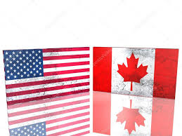 usa and canada flags u2014 stock photo jegas ra 1780347