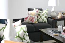 elliven studio decorating with pillows from tonic living