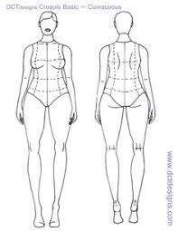 blank female fashion sketch templates children fashion croquis