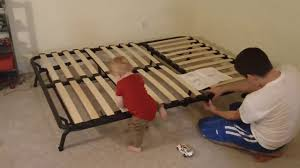 Ikea Futon Sofa Bed Putting Together The Lycksele Ikea Futon Sofa Bed Youtube