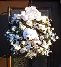 Polar Bear Christmas Decoration Uk by 55 Best Teddy Bear Christmas Images On Pinterest Teddy Bears
