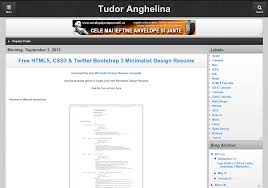 free blogger template html5 css3 jquery mobile