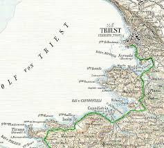 Trieste Italy Map by Trieste U2013 Infrastruct