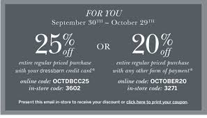 In Store Dress Barn Coupons Dressbarn Fall Into Db Sunday 20 Off Milled