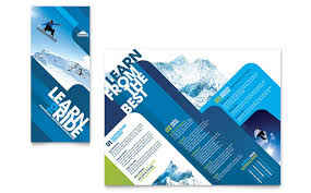 travel u0026 tourism tri fold brochure templates