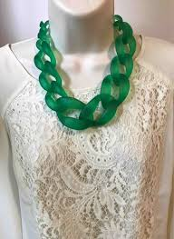 chain link necklace patterns images Crochet and being able make things for yourself rhpinterestcom jpg