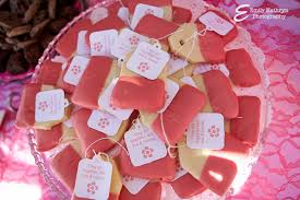 tea party themed bridal shower wedding shower cookies ideas