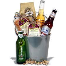 Beer Gift Basket Shop Online At Gourmetgiftbaskets Com Chalifour Flowers And