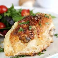 mushroom stuffed chicken breast spend with pennies