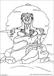 lion king coloring sheets educational fun kids coloring