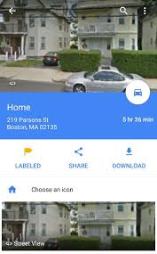 Maps Google Com Boston by Label Your Favorite Places On Google Maps With Stickers Android