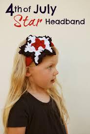 4th of july headband a headband idea for the 4th of july headband 4th of july