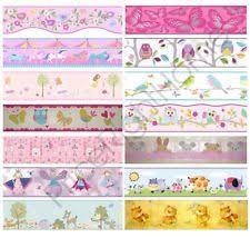 Wallpaper Borders EBay - Kids room wallpaper borders