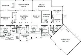 covered porch house plans floor plans