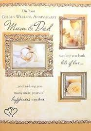 golden wedding anniversary and 50th golden wedding anniversary card beautiful verse