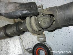 bmw drive shaft bmw e46 drive shaft center support replacement