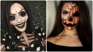 halloween makeup tutorial diy 2017 compilation 18 youtube