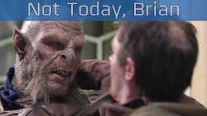 Not Today Meme - middle earth shadow of war not today brian tv spot hd 1080p
