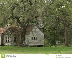old house under oak trees stock photo image 39111803