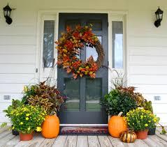 fall front door 4 ways fairview garden center