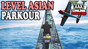 level asian parkour gta 5 custom maps gta online lpmitkev