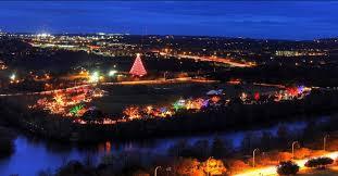 lighting austin ael zilker park trail of lights austin texas