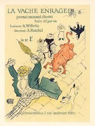bureau poste toulouse toulouse lautrec lithograph poster la vache enragee