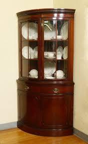 mahogany china cabinet furniture high end mahogany corner cabinet with lighting regard to china plan