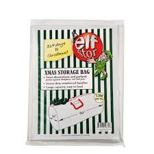 elf stor premium white holiday christmas tree storage bag large